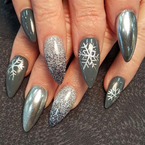 Paznokcie Na święta 20 Super Modnych Inspiracji Na świąteczny Manicure