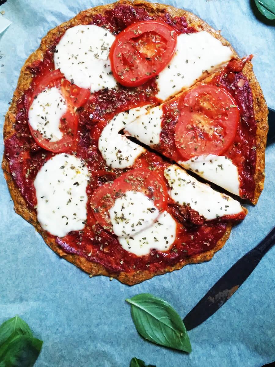 Dietetyczna Pizza z Marchewki