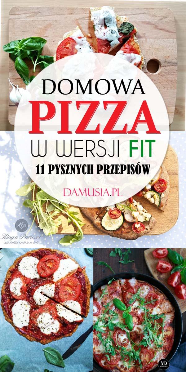 Domowa Pizza w Wersji FIT – 11 Pysznych Przepisów