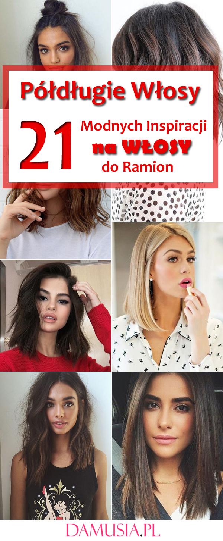 Półdługie Włosy 21 Fenomenalnych Inspiracji Na Włosy Do Ramion