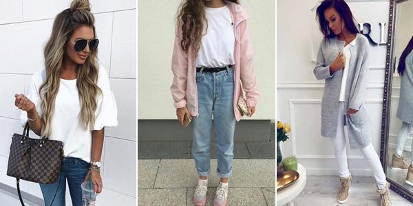 Jak się Ubrać na Wiosnę? TOP 20+ Modnych Inspiracji na Lekkie Wiosenne Stylizacje