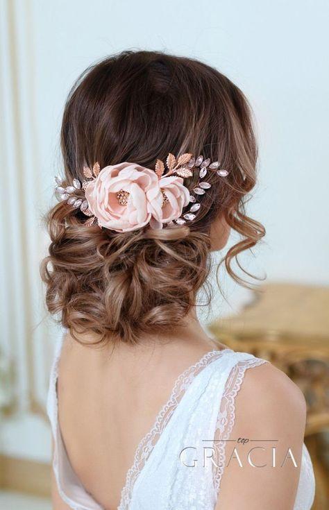 ślubne Fryzury Z Kwiatami We Włosach Top 25 ślicznych