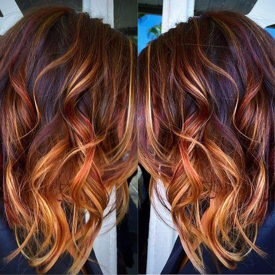 Modne Kolory Włosów Na Jesień Top 25 Ciekawych Koloryzacji