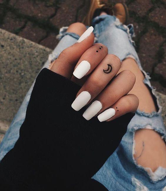 Tatuaż Na Palcu Damusiapl