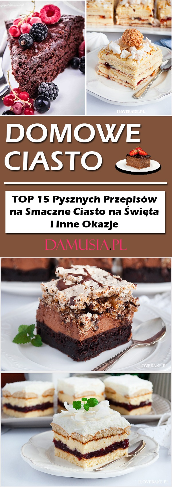 Domowe Ciasto Top 15 Pysznych Przepisow Na Smaczne Ciasto Na Swieta
