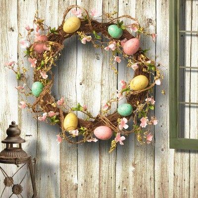 15 Pięknych Pomysłów na Wianek Wielkanocny