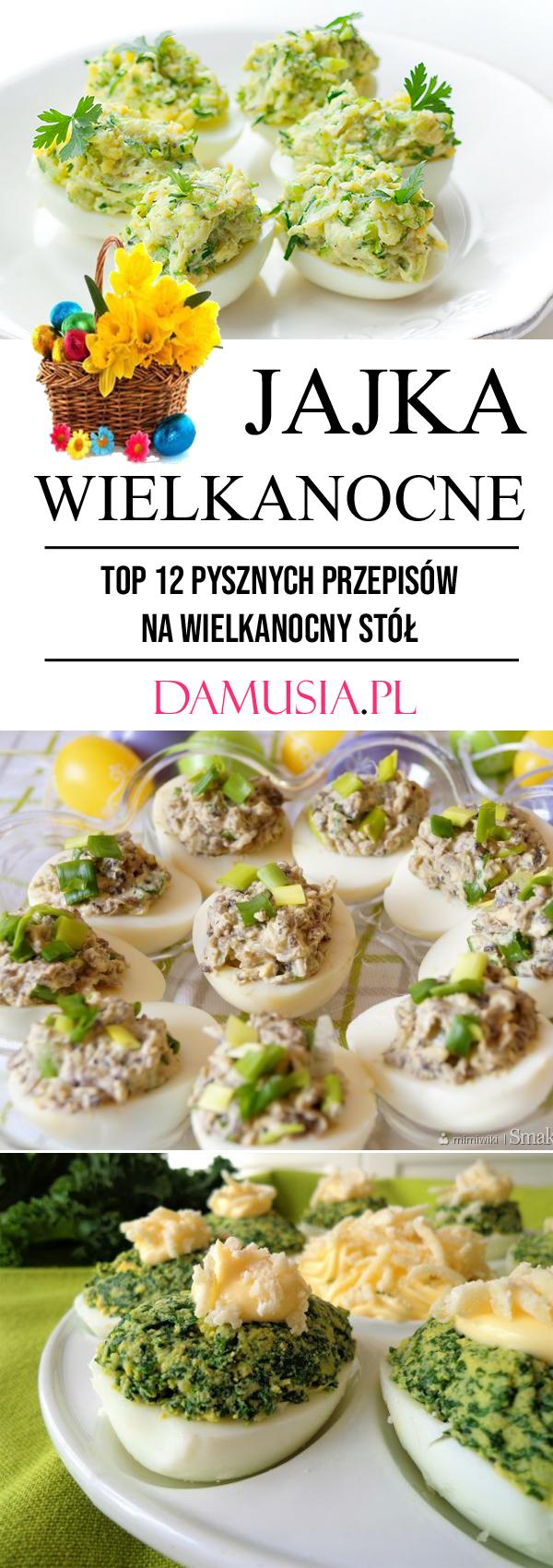 Jajka Wielkanocne Top 12 Pysznych Przepisow Na Przekaski Na