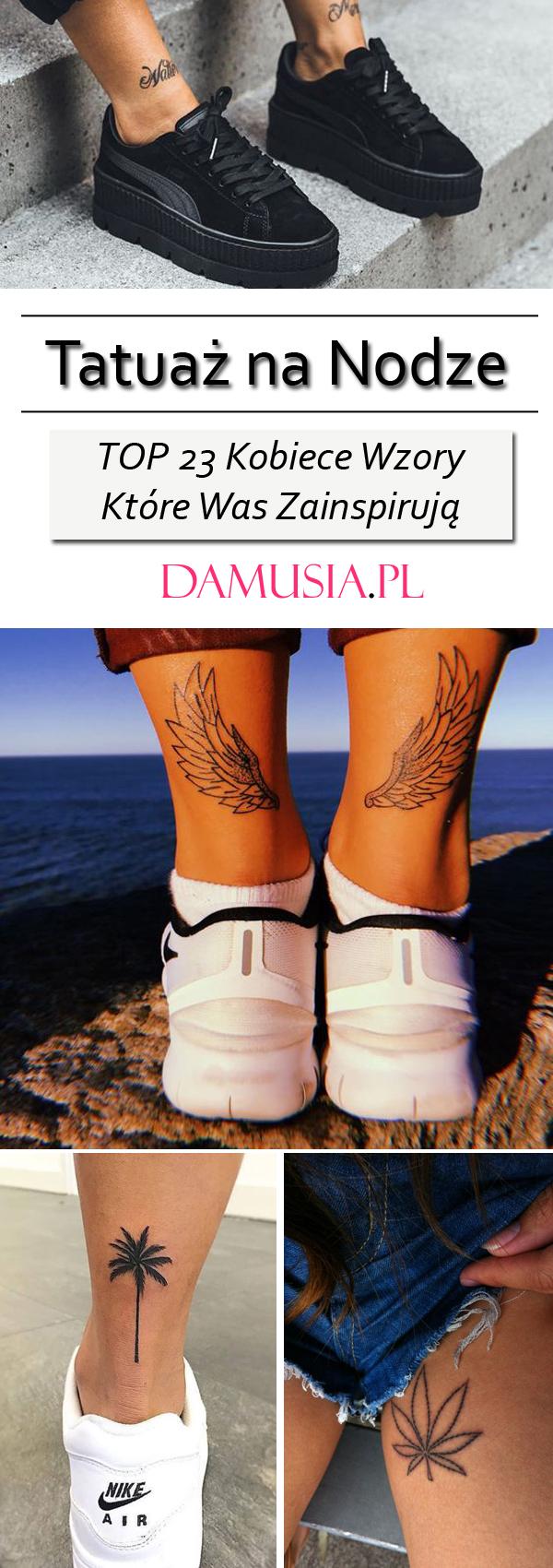 Tatuaż Na Nodze Top 23 Kobiece Wzory Które Was Zainspirują