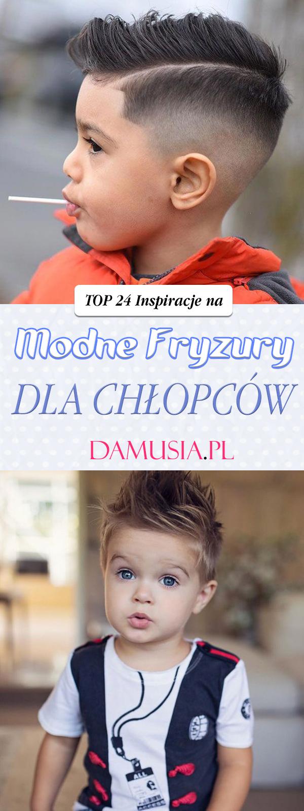 Modne Fryzury Dla Chłopców Top 24 Inspiracje Dla Twojej
