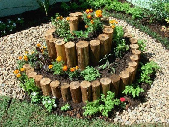 Spiralny Ogród – TOP 15 Ciekawych Pomysłów na Spiralną Rabatę w Ogrodzie
