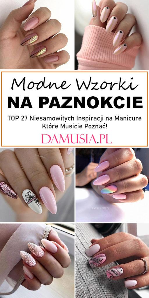 modne wzorki na paznokcie