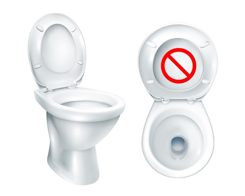 Tych rzeczy nie wrzucaj do toalety